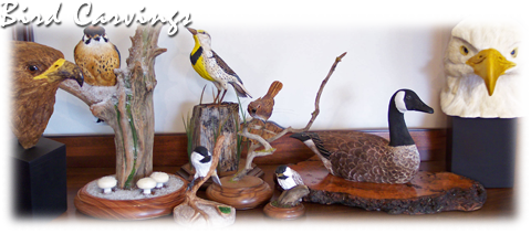 Bird Carvings